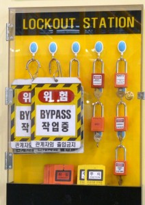 LOTO tags locks