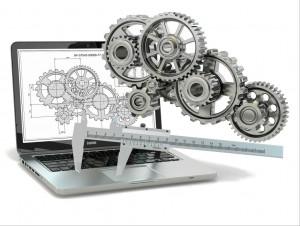 Engranajes y ordenador